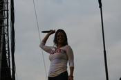 Sara Evans in concert in June 2007