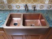 My copper sink