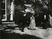English: A screenshot of Roundhay Garden Scene by the French Louis Le Prince. The world's first film, shot on 14 October 1888 at Oakwood Grange in Roundhay, Leeds, West Yorkshire, England. The home of Joseph and Sarah Whitley, the in-laws of Louis Le Prin