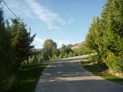 Tinhorn Creek Guest House Driveway
