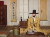 Interior 1, Unhyeongung - Seoul, Korea.