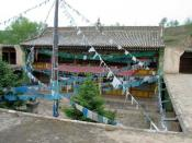 Das Geburtshaus des 14. Dalai Lama im Dorf Taktser (Hongya cun), Amdo (Provinz Qinghai/ VR China) Foto: A. Gruschke (Freiburg)
