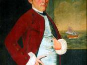 Deane 1766, painting by William Johnston