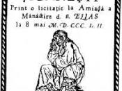 An 1852 Wallachian poster advertising an auction of Roma slaves in Bucharest.