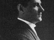 James Michael Curley in his first term as a Member of Congress in 1912.