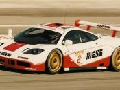 Photograph of the West Competition McLaren F1 GTR at Paul Ricard.