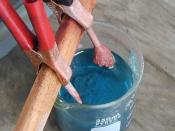 Synthesizing Copper Sulfate from Sulfuric acid and Copper