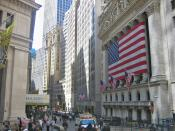 The New York Stock Exchange, the world's largest stock exchange by market capitalization