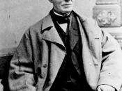 American abolitionist William Lloyd Garrison, three-quarter-length, seated