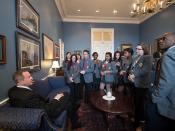 Pages Photo Opp with Governor