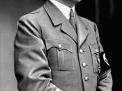 According to Bullock, Hitler was an opportunistic adventurer devoid of principles, beliefs or scruples.