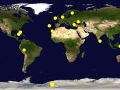 Hypothesized location of Atlantis in worldwide, click image for greater detail