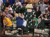Flying Baseball Bat