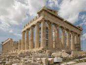English: Recent shot of the parthenon, athens, greece