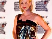 Charlize Theron at the Meteor Ireland Music Awards, 2008