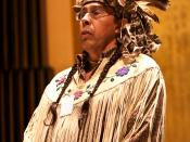 English: Traditional Chief of the Onondaga Nation, Todadaho Sid Hill addresses the Ninth Session of the United Nations Permanent Forum on Indigenous Issues