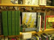 Some Botany books at University Bookstore - Seattle
