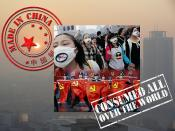 Made In China - Consumed All Over The World and the meaning of the Ningbo/宁波 port town protests against air pollution...