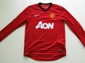 Manchester United Home Strip 2012/13