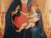 Fra Angelico - Madonna and Child of the Grapes - WGA00646