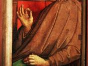 Francesco Petrarch by Justo de Gante (Justus van Gent)