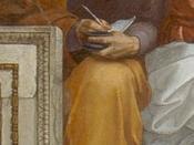 Deutsch: Anaximander, Detailansicht aus