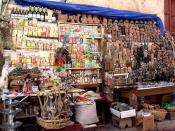 Witchcraft street vendor, La Paz