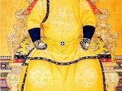 English: Emperor Shunzhi of the Qing dynasty.