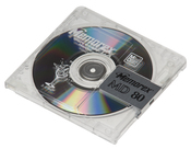 English: A recordable Memorex-brand minidisc.