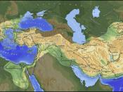 Extent of the empire of Alexander the Great