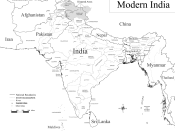 Countries of Modern Indian subcontinent