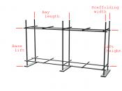 English: scaffolding