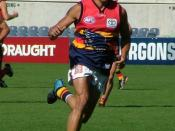 English: Andrew McLeod with the Adelaide Crows