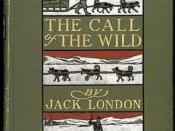 First edition cover of The Call of the Wild, New York, Macmillan Company, 1903