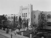 Tel Aviv. The Gymnasium.