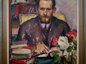Willard Huntington Wright (S. S. Van Dine), 1913-1914 by Stanton MacDonald-Wright, Oil on canvas