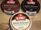 Shoe polishes for black,brown and white shoes