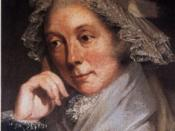 Portrait of Mary Priestley (wife of Joseph Priestley)