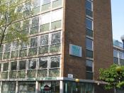 English: National Union of Journalists headquarters, Headland House, 308-312 Gray's Inn Road, London WC1X 8DP.