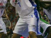 Basketball player Domenico Morena