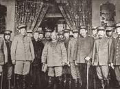 Yuan Shikai sworn in as Provisional President of the Republic of China, in Beijing, 10 March 1912.