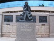 Robert Burns memorial, Canberra, Australian Capital Territory (1935)
