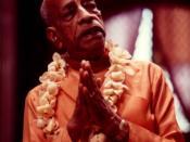 English: Bhaktivedanta Swami Prabhupada