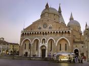 English: Basilica of Saint Anthony of Padua, Italy.
