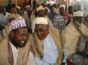 English: some of the Somali elders attended the celebration