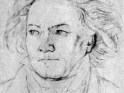 Beethoven in 1818 by August Klöber