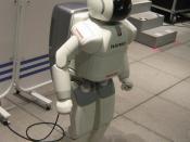 ASIMO - a bipedal robot