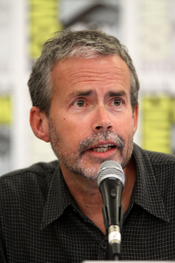 English: Mike Scully at the 2011 Comic Con in San Diego