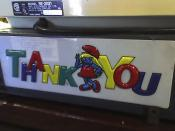 Smurfette says thank you