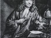 Portrait of Antoni van Leeuwenhoek (1632—1723).